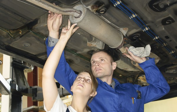 Exhoust system and mufflers repair